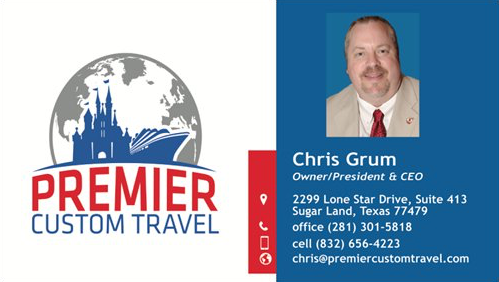 Chris Grum contact card