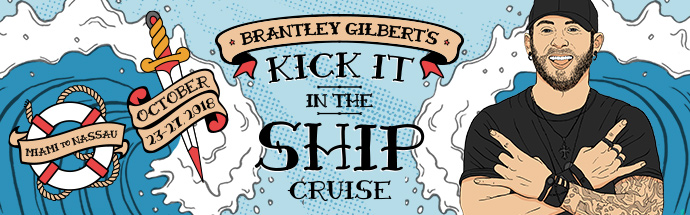 Brantley Gilbert Cruise Banner