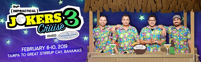 Impractical Jokers 2019 Cruise Banner