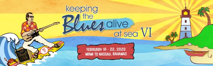 Keeping the Blues Alive at Sea 2020 Cruise Banner