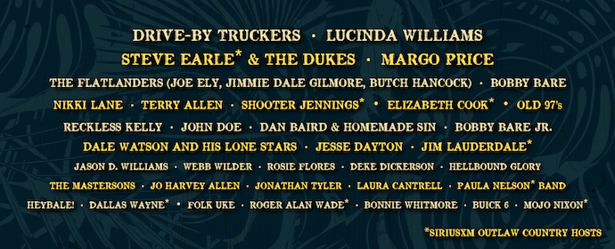 Outlaw Country Cruise Banner