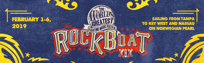 The Rock Boat 2019 Cruise Banner