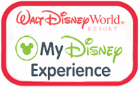 My Disney Experience button