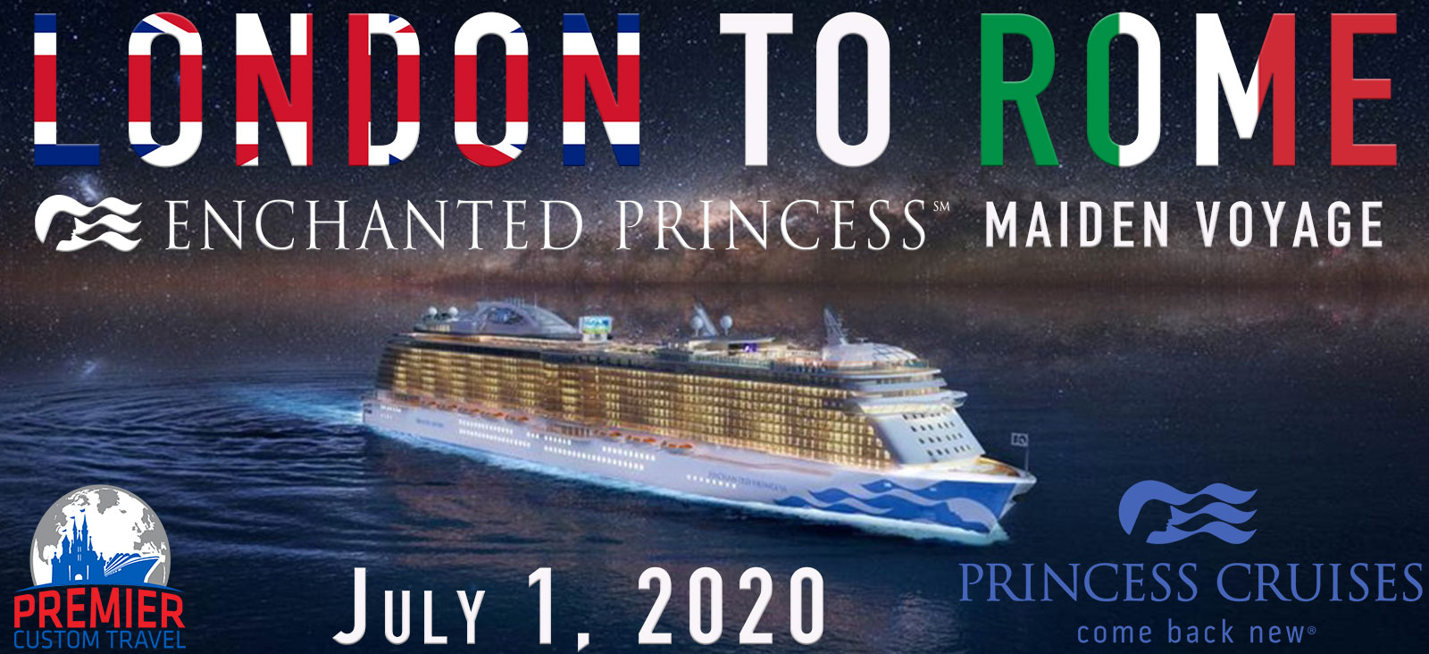 Enchanted Princess Maiden Voyage banner
