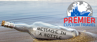 Premier Custom Travel Message in a Bottle Newsletter