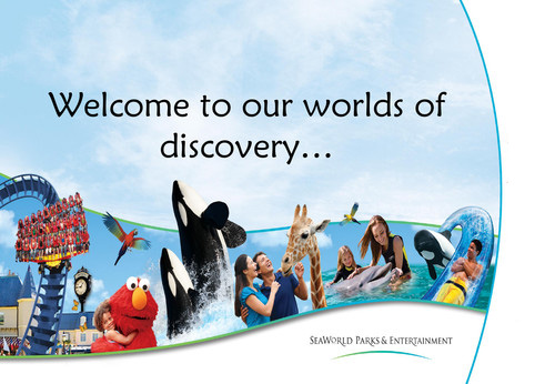 Seaworld Parks & Entertainment Header