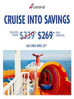 Carnival Cruise Line Special Offer