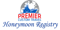 Premier Custom Travel Honeymoon Registry Logo