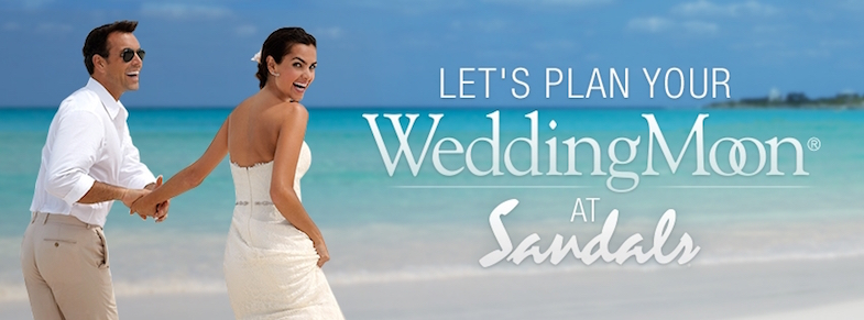 Sandals WeddingMoon Header