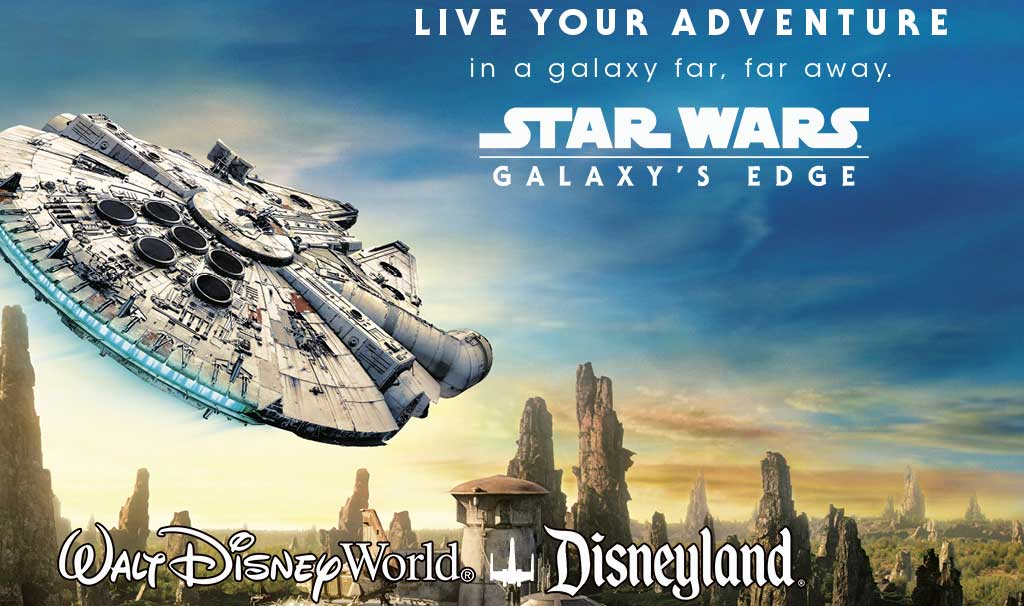 Star Wars Galaxy's Edge Now Open
