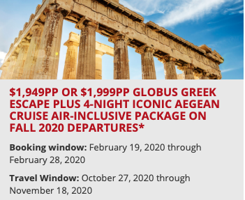 Globus Special Offer
