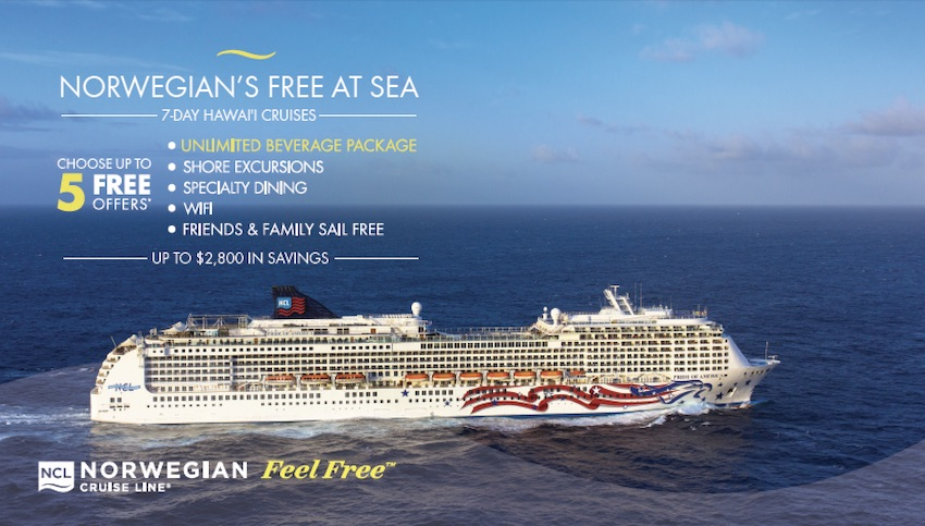 Norwegian Cruise Line Special Offers | Premier Custom Travel | Sugar