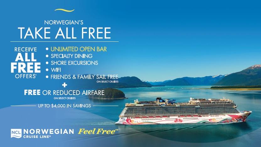 Norwegian Cruise Line Special Offers | Premier Custom Travel